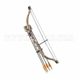 Kit Arco Poleas Junior Camo Star 20 Lbs. 26''