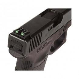 Mira Glock Fibra Optica Truglo 25 17 19 Vision Nocturna Pist