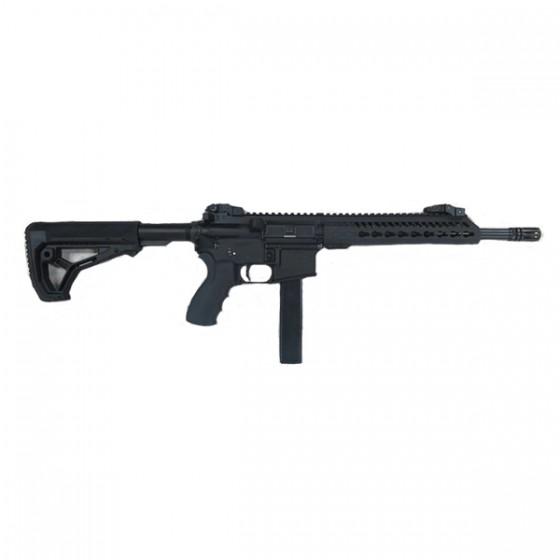 Rifle Luvo LA15 Comando Calibre 9 mm. para uso deportivo y competición