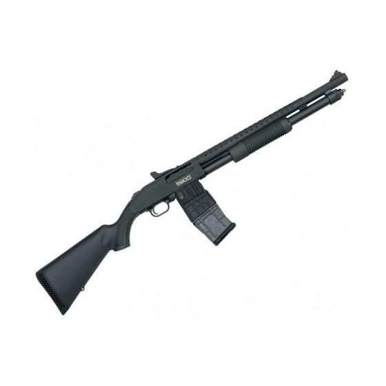 Escopeta de corredera MOSSBERG 590M MAG-FED Tactical - 12/76