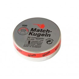 Balines H&N MATCH KUGELN Calibre 5,5 para competición