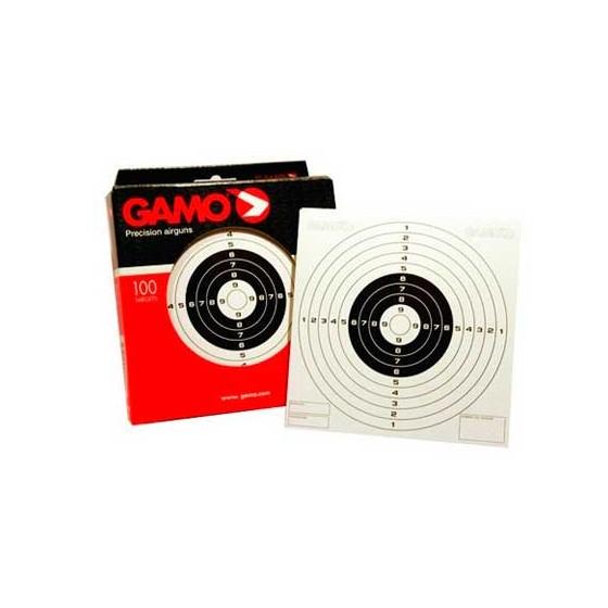 Caja 100 dianas Gamo para tiro deportivo y de entretenimiento