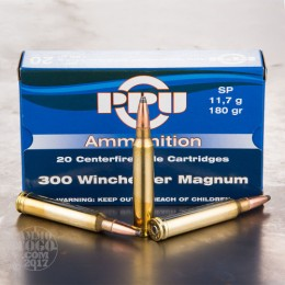 Caja munición Cal.300 WM -180 SP PRVI ( 20 unidades )